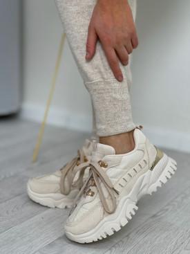 Topánky 131 béžové