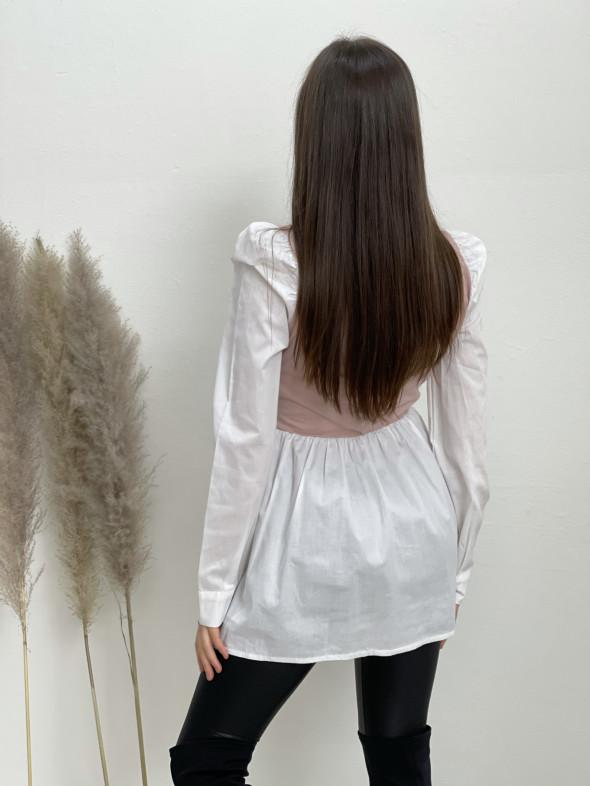 Košeľa jednofarebný vrch 33020