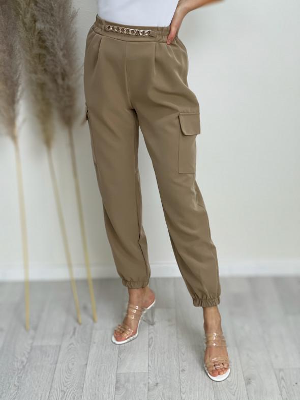 Kalhoty zlatý řetízek 31844