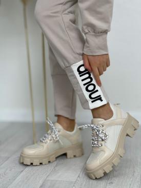 Topánky 1129 béžové