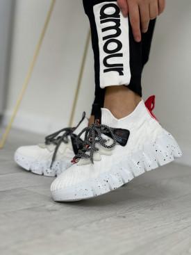 Topánky 2063-3  biele