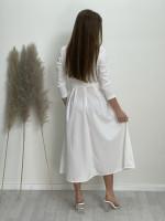 Šaty dlouhé jednobarevné 5018