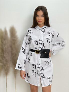 Šaty košeľové nad kolená iDeare 92459
