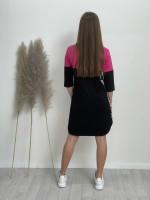Šaty teplákové beautiful 121182
