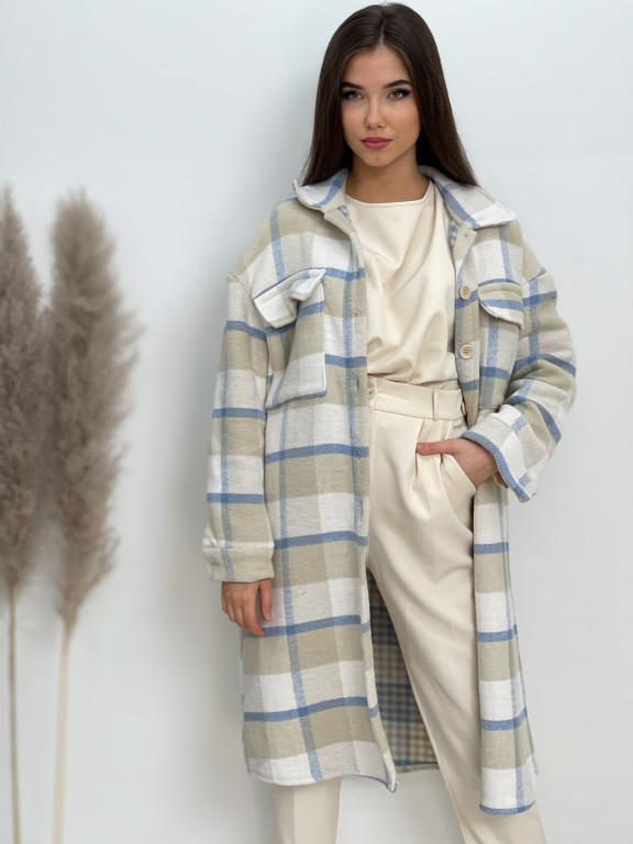 Kabát károvaný 51720