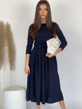 Šaty dlhé jednofarebné 5018