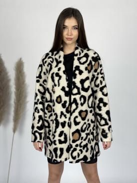 Sveter leopardí vzor 9461