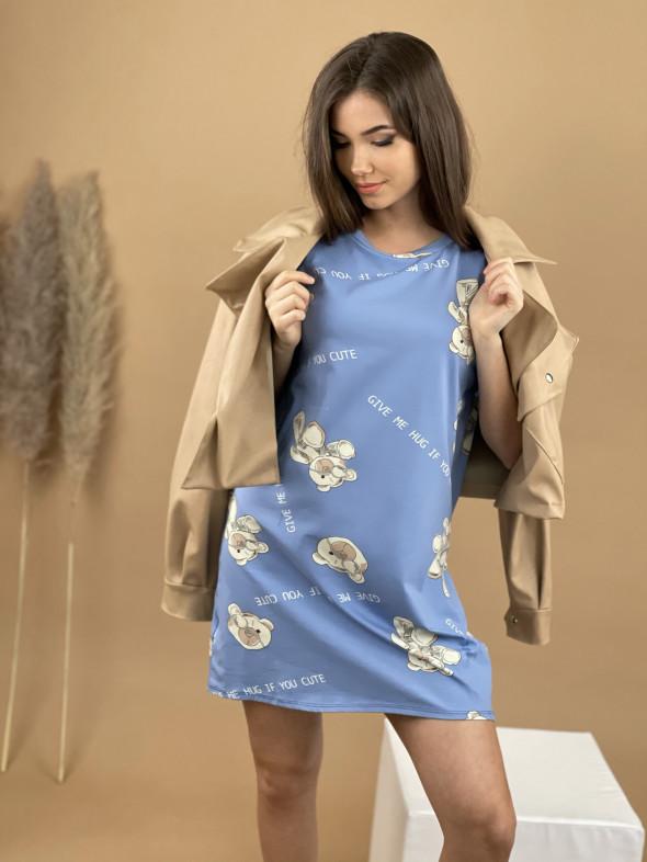 Šaty Teddy GIVE ME 8156