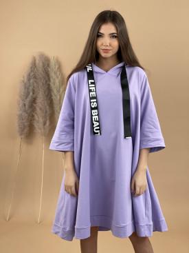 Šaty teplákové beautiful 20815
