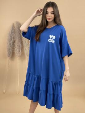 Šaty teplákové POPCORN