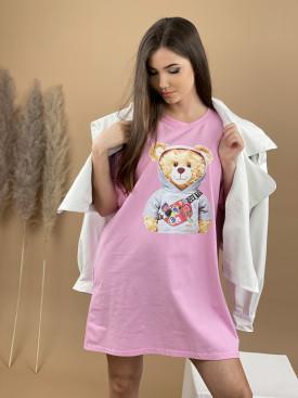 Šaty teplákové Teddy 8196