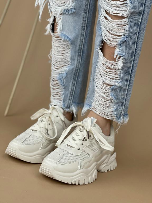Topánky 122 béžové