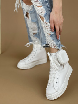 Topánky 142 biele