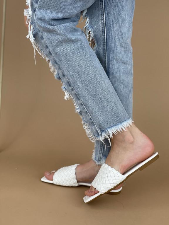 Topánky 375 biele