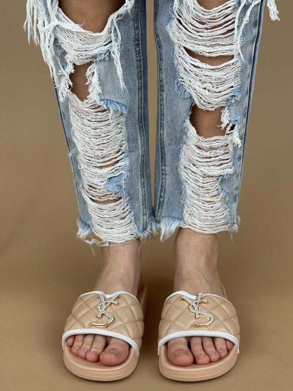 Topánky BG77 béžové