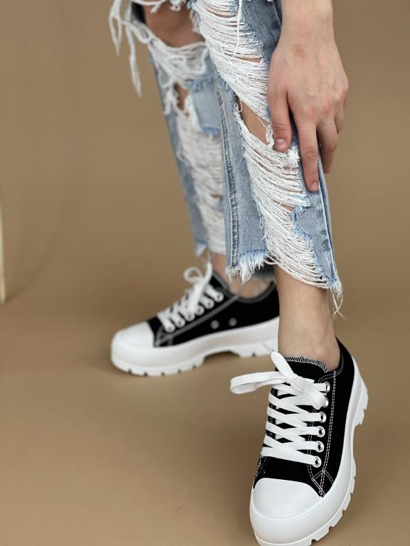 Topánky LA138 čierne