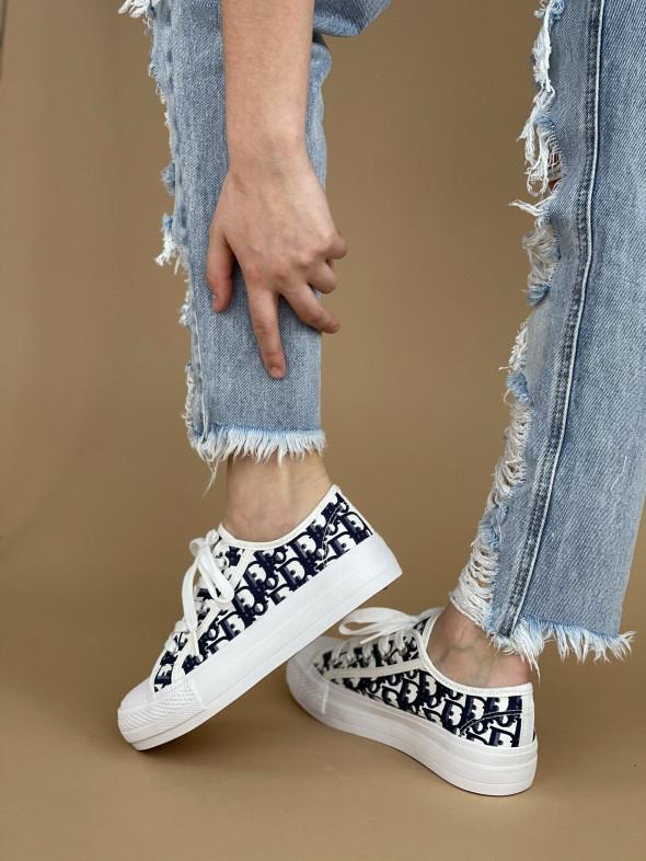 Topánky XL32 modré