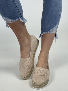 Topánky T379 béžová