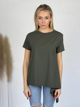 Tričko jednobarevné asymetrické