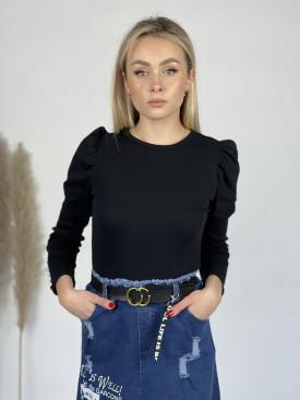 Tričko nařasené ramena knoflíčky na rukávu