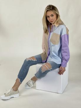 Košeľa viacfarebná 85363