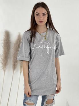 Tričko predĺžené grateful 52130