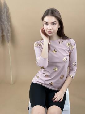 Tričko zlaté vzory 2057