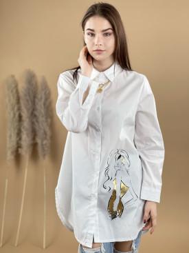 Košeľa gold woman 92343