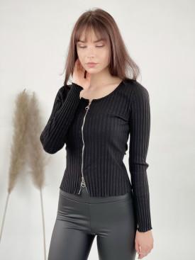 Tričko na zips 25768