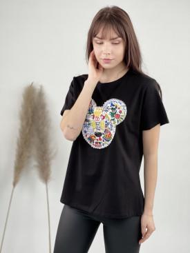 Tričko Mickey perličky 043