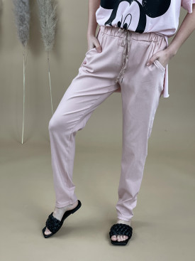 Kalhoty stříbrná šňůrka 1180