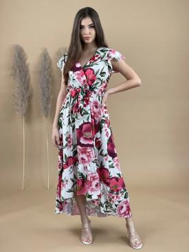 Šaty dlhé kvetované 792