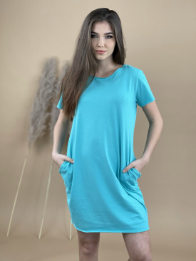 Šaty fashion krátký rukáv