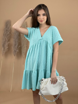 Šaty jednobarevné do véčka 9871
