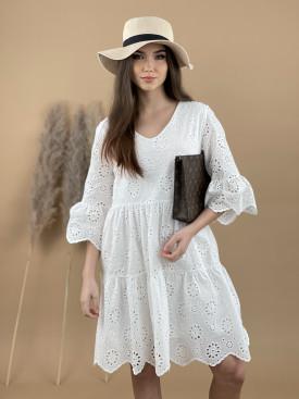 Šaty nad kolená madeira 3750