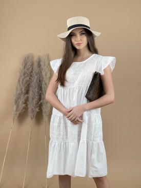 Šaty nad kolená madeira 3760