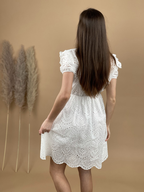 Šaty nad kolená madeira 81976