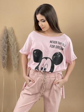 Tričko prodloužené Mickey 1903