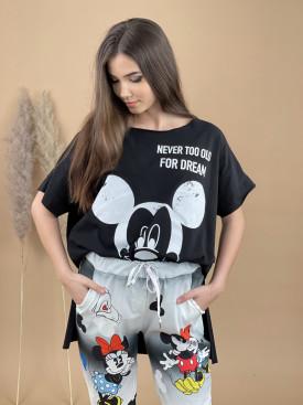 Tričko predĺžene Mickey 1903