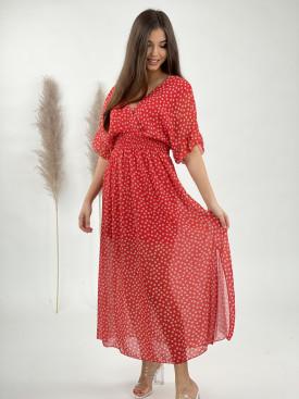 Šaty dlouhé kvítky 21111