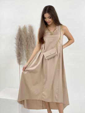 Šaty dlhé s kabelkou 7034