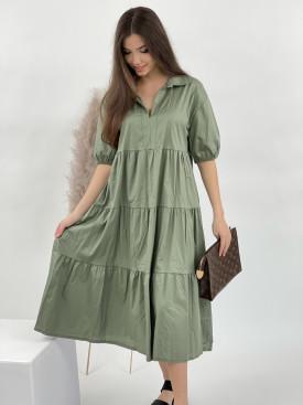Šaty jednobarevné véčkový výstřih 31958