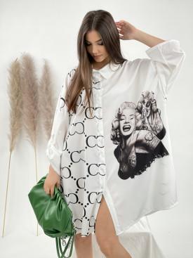Šaty košilové Marilyn CC 8893