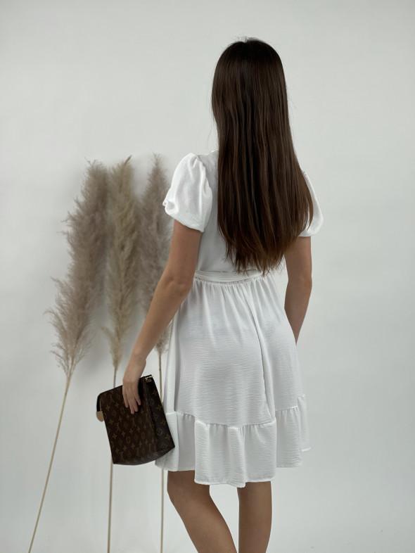 Šaty nad kolená gombíky 21100