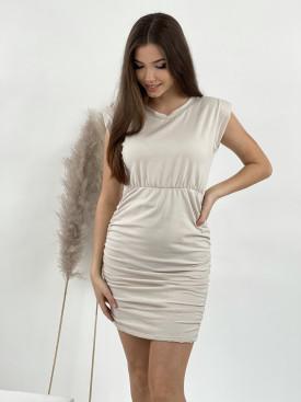 Šaty nařasený bok 9907