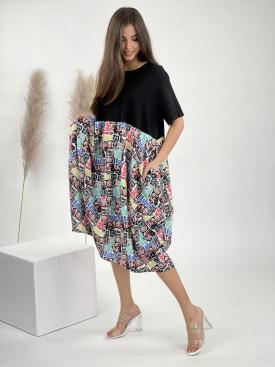 Šaty po kolena BUNNY 50753