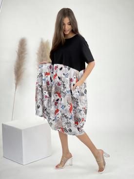 Šaty pod kolená snoopy 50753