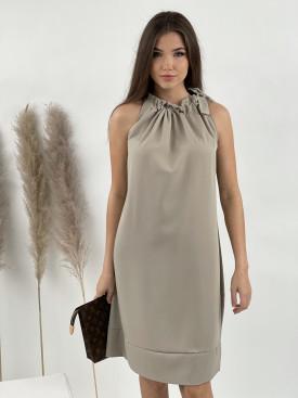 Šaty s vázáním kolem krku 53209