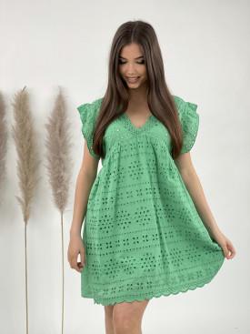Šaty véčkový výstřih madeira 2060
