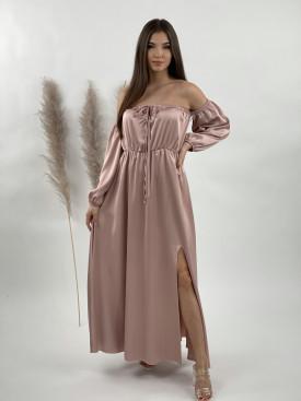 Šaty dlhé holé ramená 789